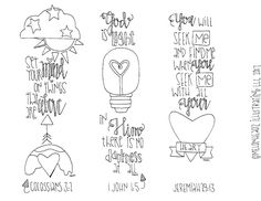 Melonheadz LDS illustrating: Bible Journaling