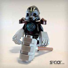 New Lego Chima Gorzan Black Gorilla from 70008 GORZAN GORILLA STRIKER @spcbot  #lego #chima #legochima #ebay #afol #spcbot