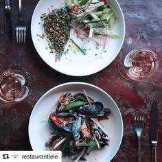 I dag drømmer vi om seafood og kølig rosé på @restaurantlele - hvad med dig?  #københavn #kbh #restaurant #seafood #rosé #foodie #foodstagram #foodlife #instagram