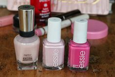 In the Pink & Green: Pink polishes that are perfect for spring