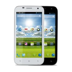 Haier W860 MTK6589 1.2GHz Quad-Core-Android 4.2 5.0 Zoll HD Bildschirm High-Definition-Dual-Kamera-Dual-SIM-Dual-Standby-Dual UMTS/3G