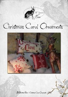 Christmas Carol Ornaments...