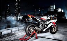 yamaha r6 white/red/black
