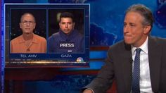 As Israeli soldiers go into #Gaza tonight to protect their people, with the always-present handicap of caring about human causalities, the calls from the main stream media for #Israel to stop the 'war crimes' will no doubt come soon anyway. Jon Stewart got them all started early yesterday with his shameful and dishonest portrayal of the conflict. Read more about how wrong this jerk was...