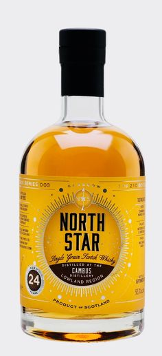 CAMBUS 24 YEAR OLD 1993 North Star Spirits, Lowlands