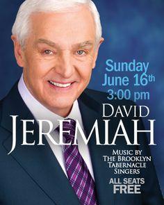 BT Event - David Jeremiah | The Brooklyn Tabernacle