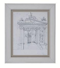 Gateway Framed Print art by Arthouse