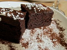 Chocolate and butternut squash cake