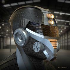 Badass Helmet Concepts - atalay-cankaya-aci-1