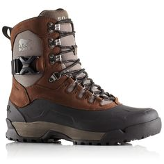 Sorel Mens Paxson Waterproof Boots Tall - Brown