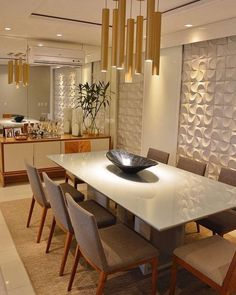 If you are planning to become more unique for the world then you must live by adopting one of the bohemian style ideas. Bohemian style is the simplest and realistic one. Dining Lighting, Open Concept Kitchen, Decoration, 3 D, Living Room Decor, Kitchen Design, Dining Table, Dining Room, Sweet Home