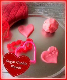 Super FUN Sugar Cookie edition- How to Make Playdo