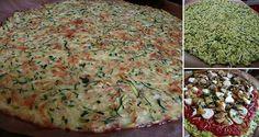 NapadyNavody.sk   Fitness pizza s cuketovým cestom bez múky