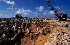 Nauru had a huge amount of surface phosphate deposits from thousands of years of bird droppings. The 1980's was the financial peak before decline to the point that now very little phosphate remains. The government was supposed to have set aside a portion of the money for investment in future industries. Corruption, however, and weak planning have almost depleted that fund. There are no other industries on the island.
