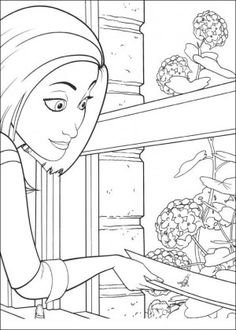 free coloring pages horticulture | 23 Best Bee coloring book images | Bee coloring pages ...