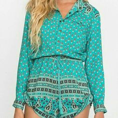 Spell & gypsy  gypsiana romper Size L . New with tags Spell & The Gypsy Collective Other
