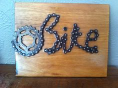 Recycled Bike Parts