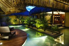 Intercontinental Thalasso and Spa Resort Bora Bora.