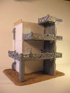 Diorama Base Terrain Model.