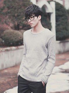 korean fashion,  a boy