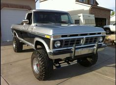 Show off your two tones! – Page 4 – Ford Truck Enthusiasts Forums Show off your two tones! – Page 4 – Ford Truck Enthusiasts Forums Big Ford Trucks, 1979 Ford Truck, Classic Ford Trucks, Ford 4x4, Diesel Trucks, Lifted Trucks, Cool Trucks, Chevy Trucks, Tonka Trucks