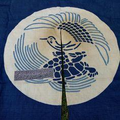Japanese Crane vs Turtle curtain