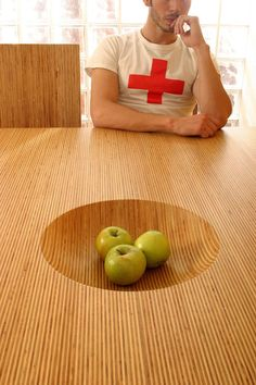 Interesting table design by Sebastian Errazuriz.