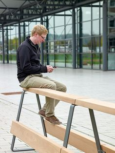 Exterior benches | Street furniture | Campus levis | Westeifel. Check it out on Architonic