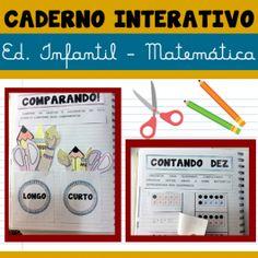 Código 651- Caderno interativo Ed Infantil - Matemática