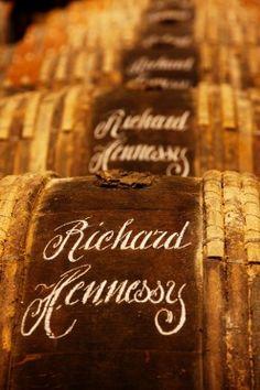 Hennessy cognac barrels