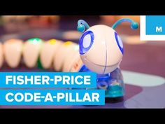 An adorable new Fisher-Price caterpillar toy aims to teach kids the basics of coding. The company is showing off at the 2016 Consumer Electronics Show the Th. Fisher Price, Curriculum Implementation, Caterpillar Toys, Ces 2016, Australian Curriculum, Digital Technology, Teaching Kids, Preschool, Coding