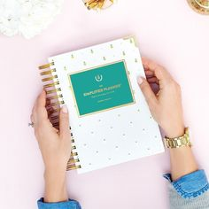 2015-2016 Academic Weekly Simplified Planner in Pineapples by Emily Ley