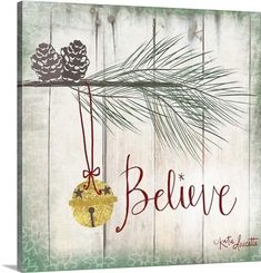 The Holiday Aisle 'Bells' Graphic Art on Wrapped Canvas