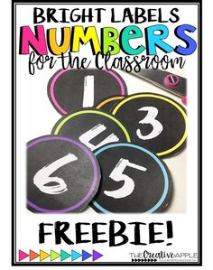 Discover thousands of images about Whether you are wanting to label cubbies, clothespins, or table caddies, these labels are adorable! Just print in color or save color and print the black/white option on bright paper. Chalkboard Classroom, Classroom Board, Classroom Labels, 4th Grade Classroom, Classroom Setup, Classroom Design, Classroom Displays, Kindergarten Classroom, Future Classroom