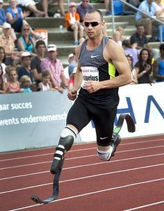 Oscar Pistorius, track and field (South Africa)