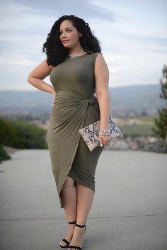 7 feminine plus size dresses for spring - women-outfits.com