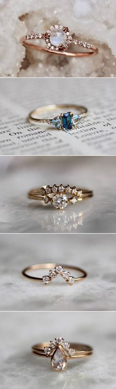 BEST OF 2017: 12 Most Loved Wedding Accessory Shops! Best Selling Engagement Rings