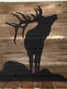 Hand painted Bull Elk on naturally distressed barnwood. Comes with hardware to hang or sits nicely on a ledge. Due to its hand painted and reclaimed nature, each one will look slightly different. Please also note that the wood will have natural imperfections & character (nail holes, variations in color....)    Please view the shops other listings. If you have a unique request, send me a message and I may be able to provide a custom order.    Approximate size  31 wide x 29 height  May requ...