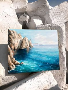 What is Your Painting Style? How do you find your own painting style? What is your painting style? Acrylic Painting Canvas, Acrylic Art, Painting Art, Detailed Paintings, Mini Canvas Art, Landscape Paintings, Oil Paintings, Ocean Paintings, Small Canvas Paintings