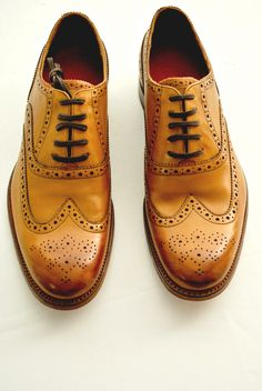 Wingtip - call me old fashioned, but to this day I love me some wingtips~ my dad had beautiful wingtips~