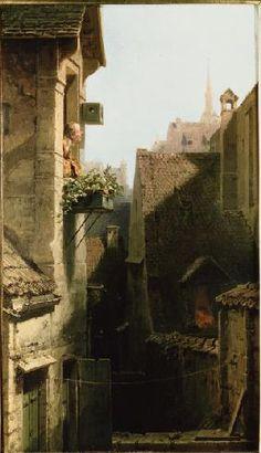 Carl Spitzweg - Spitzweg / The Hypochondriac / 1865