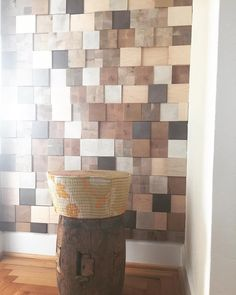 """Jamie Beckwith Collection & BI on Instagram: """"Pretty Little Niche. Projection blocks by #jamiebeckwithcollection #design #wall #wallcovering #vogueliving #niche #woodblock #blocks #projection #interiordesign #luxury #unique #custom #nashville #florida #newyork #tribal #wood #woodworking"""""""