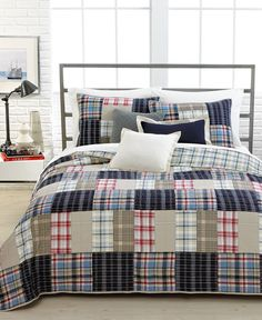 Nautica Bedding, Chatham Full/Queen Quilt - Quilts & Bedspreads - Bed & Bath - Macy's