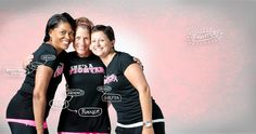 Power in Pink!  Under Armour  Celebrating the many women who use fitness & exercise in the fight against breast cancer!
