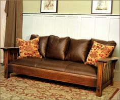 Drop Arm Settle This settle features a deep seat with an adjustable back. This settle is a perfect blend of classic arts and crafts lines with the comfort of a contemporary sofa. http://caledoniastudios.com/pages/living_room/drop_arm_settle.html
