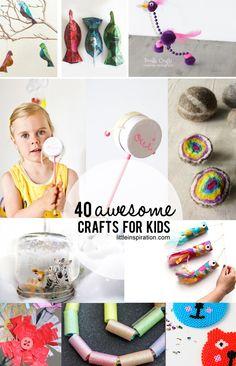 40 #Kids #Crafts