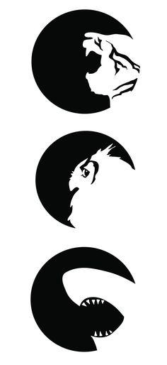 Animal Logo Series by Krystinna Smith, via Behance
