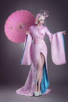 Sakura burlesque by Marius Sachtikus