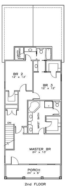 House Plan chp-49299 at COOLhouseplans.com