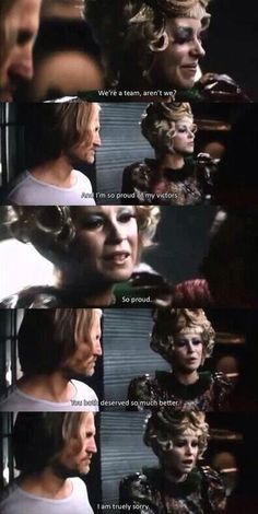 Effie's lines were heartbreaking.
